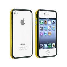Fosmon 2 Tone Bumper Case for Apple iPhone 4/4S - Yellow & Black by Fosmon, http://www.amazon.com/dp/B007MF9Z20/ref=cm_sw_r_pi_dp_ux7sqb0571W8H
