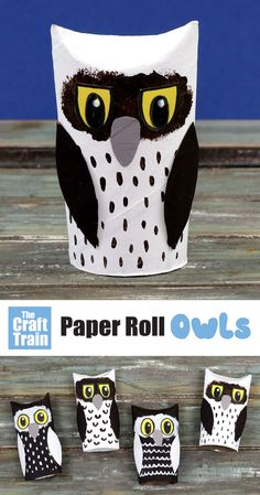 Simple paper roll owl craft for kids of all ages. Make this adowrable owl craft from an upcycled paper towel roll – so cute! #kidscrafts #kidsactivities #paperrollcrafts #woodlandanimalcrafts #animalcraftsforkids Owl Crafts Kids, Animal Crafts For Kids, Paper Crafts For Kids, Easy Crafts For Kids, Diy For Kids, Fun Crafts, Creative Activities For Kids, Creative Kids, Preschool Activities