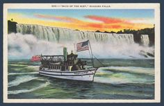 Postcards - Canada #  895 - Maid of the Mist, Niagara Falls, Ontario