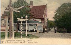 Haagsche Schouw bij Leiden rond 1900.