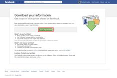 How To Download All Your Photos & Data From Facebook