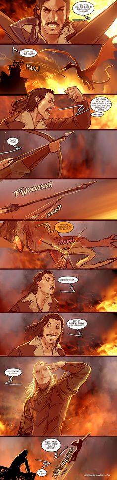 hobbit 3: the Legolas chronicles first look! by nebezial.deviantart.com on @deviantART