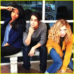 Maddie Hasson twisted  | ... Twisted' Trio | Avan Jogia, Kylie Bunbury, Maddie Hasson, Twisted