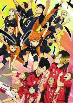 Haikyuu!! Karasuno vs. Nekoma aka the battle at the garbage dump
