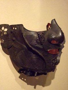 Japanese iron face masks 15th century CE (4) | by mharrsch