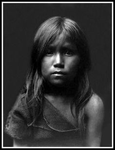 Hopi Angel. A superb portrait by Edward S. Curtis. Date: c. 1905.