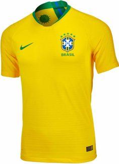 5eaa6f2362d66 2018 19 Nike Brazil Match Home Jersey. Buy it now from www.soccerpro