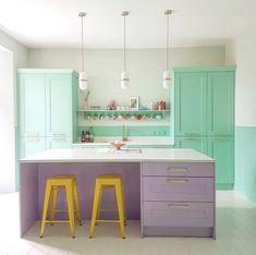 Open Plan Kitchen, Kitchen Reno, Kitchen And Bath, New Kitchen, Kitchen Design, Living Etc, Living Spaces, Layout, Smart Design