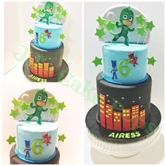 pj masks cake - Google Search