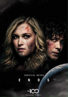 the 100 season 3 poster - so glad it's back