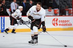Anaheim Ducks #17 Dustin Penner