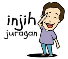 panjul cah jowo - Stiker LINE Emo Cartoons, Cartoon Jokes, Funny Jokes, Hilarious, Joker Iphone Wallpaper, Joker Wallpapers, Emoji Images, Joko, Funny Stickers