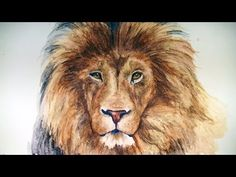 ▶ How to Draw a Lion - Graphitint Pencils - YouTube