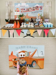 Cars Birthday Party {Welcome to Radiator Springs}