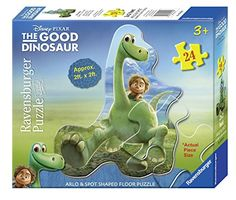 Amazon Lightning Deal 75% claimed: Ravensburger The Good Dinosaur: Arlo & Spot Shaped Floor Puzzle (24 Piece) #LavaHot http://www.lavahotdeals.com/us/cheap/amazon-lightning-deal-75-claimed-ravensburger-good-dinosaur/132556