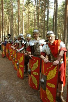 Life in the Roman army was very much like life in any army: a lot of standing around and waiting.