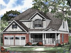 Build your ideal home with this Country house plan with 4 bedrooms(s), 2 bathroom(s), 2 story, and 2244 total square feet from Eplans exclusive assortment of house plans.