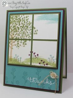 Sheltering Tree Window Card by amyk3868 - Cards and Paper Crafts at Splitcoaststampers