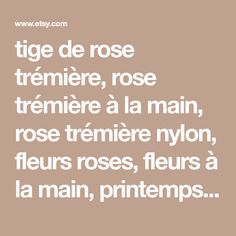 tige de rose trémière, rose trémière à la main, rose trémière nylon, fleurs roses, fleurs à la main, printemps, anniversaire, idée de cadeau unique, rose trémière rose en nylon