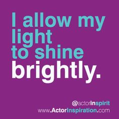 I allow my light to shine brightly. Words Of Encouragement, How To Look Better, Meditation, Branding, Wisdom, Thoughts, Mindset, Decor Ideas, Magic