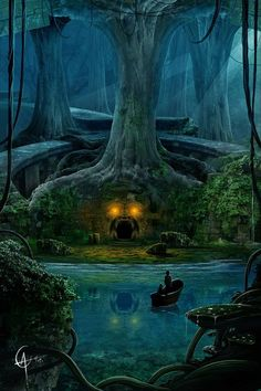 Dark Art - Fantasy in the Woods