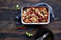 Vegetable Pizza, Lasagna, Vegetables, Ethnic Recipes, Food, Essen, Vegetable Recipes, Meals, Yemek