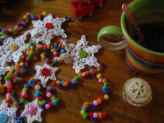 ༺༺༺♥Elles♥Heart♥Loves♥༺༺༺ ...........♥Crochet Bunting♥........... #Crochet #Bunting #Crochetbunting #Garland #Flag #Decorate #Tutorial #Pattern #Vintage #Handmade ♥