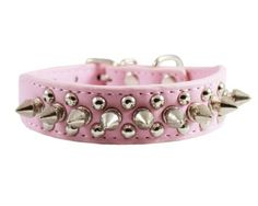 1013 Punk Style Spiked Studded Punk Dog Collar 098 Wide for Small DogPink >>> For more information, visit image link.Note:It is affiliate link to Amazon.