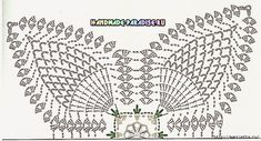 Вязание крючком. Салфетки с розочками (16) (700x379, 253Kb)