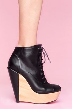 Sydney Wedge Boot // hahaha this is good, i can only wear wedges but wish i could do heels