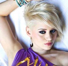 Moderne Undercut-Frisuren für Frauen, die keine Angst vor dem Haarschneidegerät haben ….
