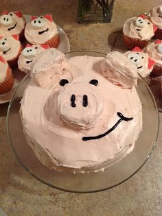 Fw: (No subject specified) by sra_drew Cake Recipes, Dessert Recipes, Desserts, Cake Cookies, Cupcake Cakes, Farm Birthday Cakes, Birthday Ideas, Piggy Cake, Farm Cake