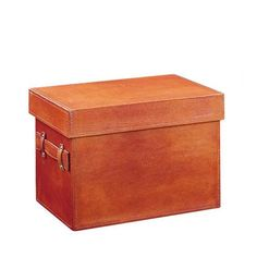 $57 Neu Home Tan Faux Leather Document Box Organize It All Storage Containers Storage & Organi