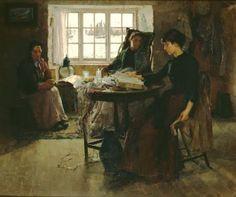 Bramley, Frank (1857-1915) The fisherman's home
