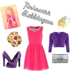 Princess Bubblegum (inspired) - Adventure Time