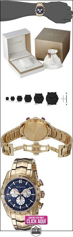 Versace reloj hombre V-Ray chrono PVDB06-P0015 PNUL  ✿ Relojes para hombre - (Lujo) ✿ ▬► Ver oferta: http://comprar.io/goto/B00V87ON70