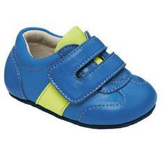 Smaller by See Kai Run - Grant in Blue. Find more fun baby shoes now 49b926287acb