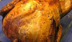 Helstekt kalkon i ugn.Räcker till många.Till Jul och Nyårsmiddag. Lchf, Good Food, Turkey, Thanksgiving, Dessert, Meat, Chicken, Recipes, Swedish Recipes