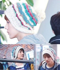 Kpop EXO M K  LUHAN Beanie Hat  Adjustable Snapback fitted cap