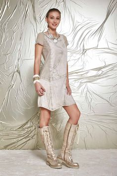 DANIELA DALLAVALLE - Lookbook #collection #danieladallavalle #elisacavaletti #PE17 #woman #boots #dress #bracelet #necklace
