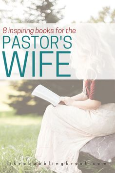 One question new pastors' wives often ask is if there are any helpful books for pastors wives, and so this list was born. Gifts For Pastors, Pastors Wife, Christian Wife, Christian Quotes, Preachers Wife, Proverbs 31 Woman, Wife Quotes, Inspirational Books, Christian Inspiration