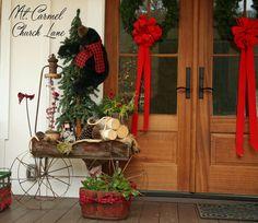 Easy Fall to Christmas Transition — Mt. Carmel Church Lane