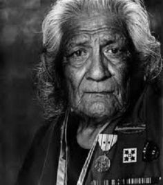 Charles Chibitty, WW II Veteran and Comanche Code Talker