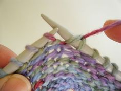 My favourite type of short row, the German short row, is simple to execute, and is nearly imperceptible in your fabric. When using this method, you don't need to wrap your stitches, nor do you need to hang markers off your yarn at each turn. Give it a try!