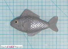 Easy FIsh Scale -How to Cake That