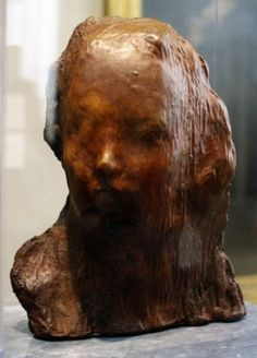 Medardo Rosso; Ecce Puer (Behold the Child); 1906-07; wax over plaster with brown patina