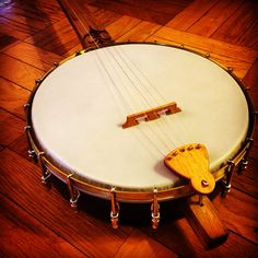 One of five banjos built in 2015. Recycled from Detroit wood.