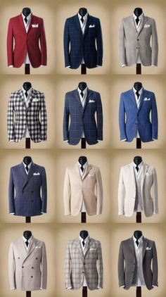 Men's jacket styles