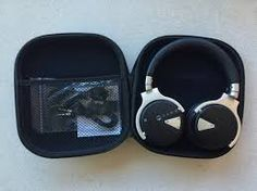 Paww Over Ear Headphones - Paww WaveSound 2 - Active Noise Cancelling Bluetooth Headphones with Custom Carry Case - Black Bluetooth Headphones, Over Ear Headphones, Noise Cancelling, Carry On, Travelling, Movie, Songs, Black, Hand Luggage