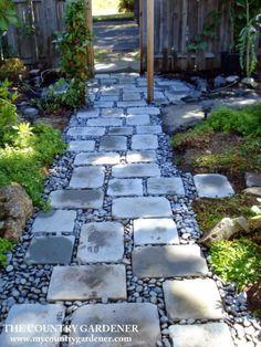Unbelievable garden path and walkway ideas (23)